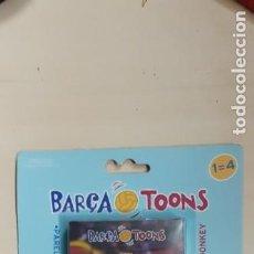 Coleccionismo deportivo: JUEGO DE CARTAS F.C BARCELONA. BARCA TOONS. NUEVAS. Lote 211446245