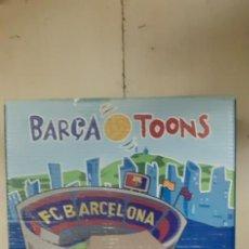 Coleccionismo deportivo: JUEGO DOMINO F.C BARCELONA. BARCA TOONS. NUEVO. Lote 211446339