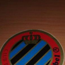 Coleccionismo deportivo: PEGATINA DEL CLUB BRUGGE K.V AÑOS 80. Lote 212723038