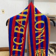 Coleccionismo deportivo: BUFANDA AÑOS 80-90 FC BARCELONA. Lote 213320837
