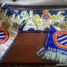 Coleccionismo deportivo: RCD ESPANYOL FUTBOL BUFANDA SCARF FOOTBALL. Lote 213683443