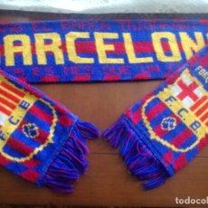 Coleccionismo deportivo: FC BARCELONA FUTBOL BUFANDA SCARF FOOTBALL. Lote 213683587