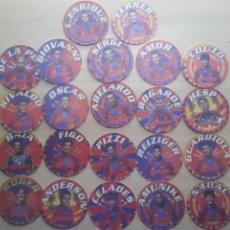 Coleccionismo deportivo: COLECCION 22 POSAVASOS F.C.B BARCELONA. Lote 213943940