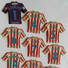 Coleccionismo deportivo: IMAN MAGNETICO CAMISETA MEGA FUTBOL 2009 - R. SPORTING. Lote 214673585
