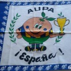 Coleccionismo deportivo: ESPAÑA 82 NARANJITO. AUPA ESPAÑA, PAÑO DE COCINA, 50 X 43 CM. Lote 214736093