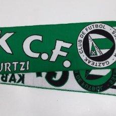 Collectionnisme sportif: BUFANDA GAZTEAK C.F. KABIEZES SANTURTZI. CLUB DE FUTBOL. TDKDEP24. Lote 214831336