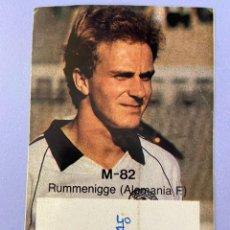 Coleccionismo deportivo: PEGATINA RUMMENIGGE, MUNDIAL 82.. Lote 214886207