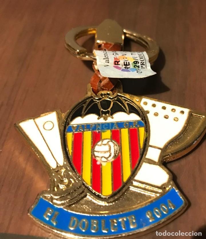 LLAVERO VALENCIA C.F. TEMPORADA 2003-2004 EL DOBLETE (Coleccionismo Deportivo - Merchandising y Mascotas - Futbol)