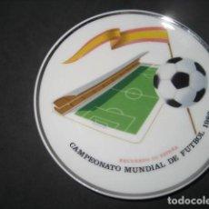 Coleccionismo deportivo: PLATO PORCELANA MUNDIAL FUTBOL ESPAÑA 1982. Lote 215833562