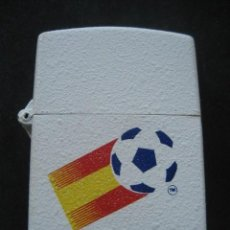 Coleccionismo deportivo: MECHERO TIPO ZIPPO. MUNDIAL DE FUTBOL ESPAÑA 1982.. Lote 216859010