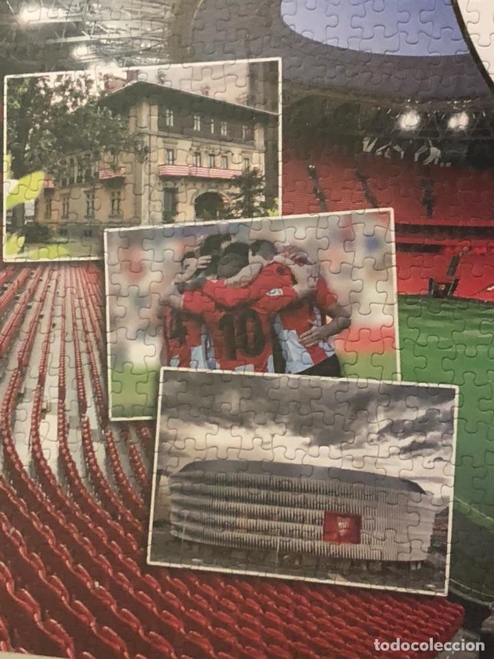 Coleccionismo deportivo: Magnifico puzzle enmarcado, atlethic de Bilbao, gran tamaño - Foto 3 - 217426232