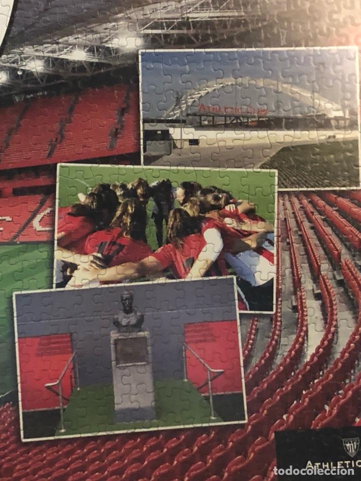 Coleccionismo deportivo: Magnifico puzzle enmarcado, atlethic de Bilbao, gran tamaño - Foto 4 - 217426232