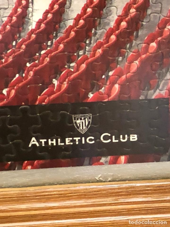 Coleccionismo deportivo: Magnifico puzzle enmarcado, atlethic de Bilbao, gran tamaño - Foto 5 - 217426232