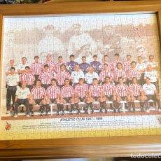 Coleccionismo deportivo: MAGNIFICO PUZZLE ENMARCADO, ATLETHIC DE BILBAO, BUEN TAMAÑO, TEMPORADA 97-98. Lote 217426525