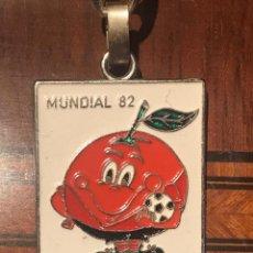 Coleccionismo deportivo: LLAVERO NARANJITO MUNDIAL 82. Lote 217557126