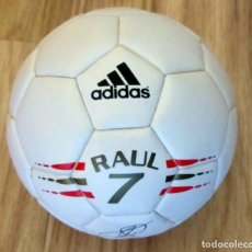 Coleccionismo deportivo: CAJA BALON RELOJ ADIDAS RAUL GONZALEZ REAL MADRID BOX BALL WATCH. Lote 217602728