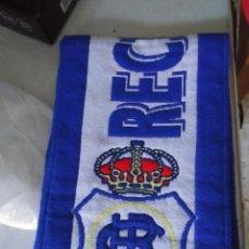 Coleccionismo deportivo: BUFANDA DEL RECRE. Lote 217823760