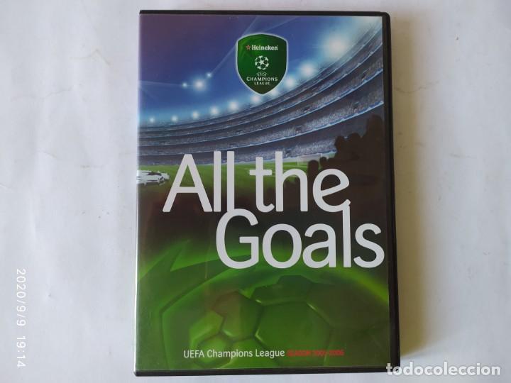 DVD, ALL THE GOALS. UEFA CHAMPION LEAGUE SEASON 2005-2006. (Coleccionismo Deportivo - Merchandising y Mascotas - Futbol)