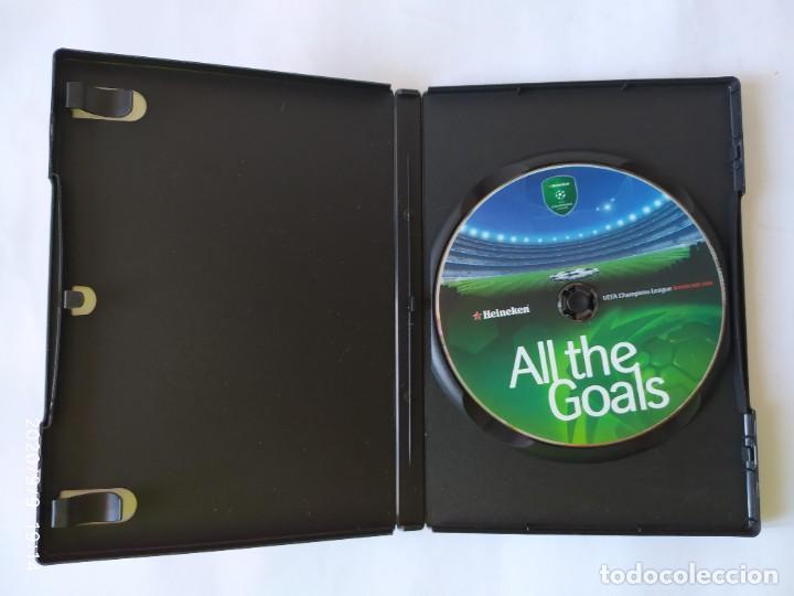 Coleccionismo deportivo: DVD, ALL THE GOALS. UEFA CHAMPION LEAGUE SEASON 2005-2006. - Foto 3 - 218152495