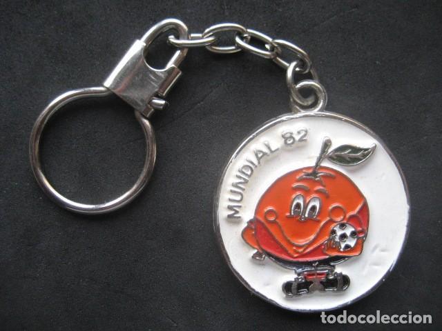 LLAVERO FUTBOL MUNDIAL ESPAÑA 82. NARANJITO (Coleccionismo Deportivo - Merchandising y Mascotas - Futbol)