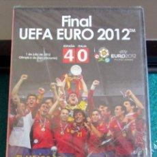 Coleccionismo deportivo: FINAL UEFA EURO 2012 ESPAÑA 4 ITALIA 0 DVD NUEVO PRECINTADO EUROCOPA. Lote 218284527
