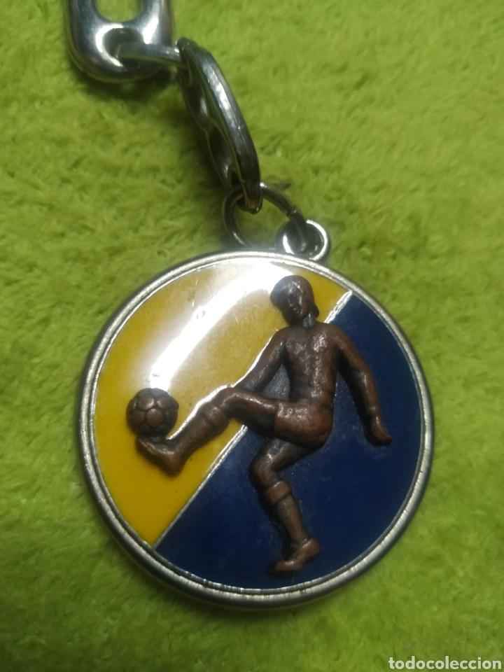 Coleccionismo deportivo: Llavero antiguo Union Deportiva Las Palmas - Foto 2 - 218950523