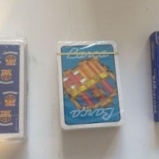 Coleccionismo deportivo: LOTE 3 JUEGOS CARTAS BARÇA. FC BARCELONA. Lote 218959350