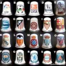 Coleccionismo deportivo: DEDAL - ESPECIAL FUTBOL (ESCOGE TUS DEDALES A PARTIR DE 2 €). Lote 181518502