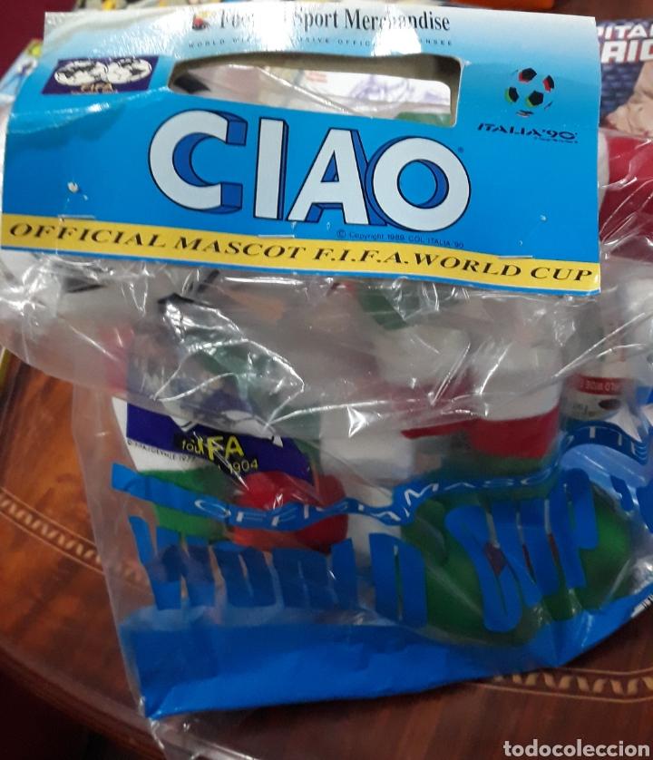 Coleccionismo deportivo: Figura Ciao italia 90 mascota oficial mundial de futbol 36 unidades - Foto 3 - 220443096