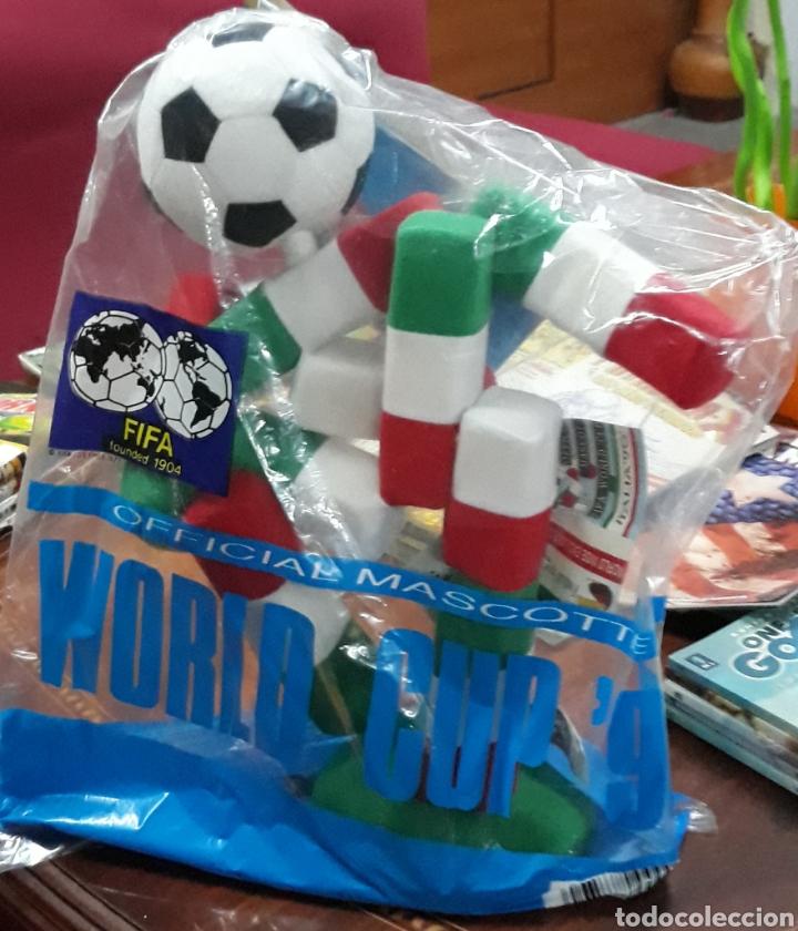 FIGURA CIAO ITALIA 90 MASCOTA OFICIAL MUNDIAL DE FUTBOL 36 UNIDADES (Coleccionismo Deportivo - Merchandising y Mascotas - Futbol)