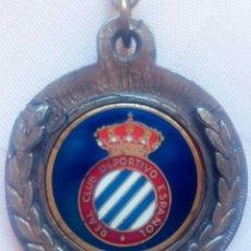 Coleccionismo deportivo: REAL CLUB DEPORTIVO ESPAÑOL ANTIGUO LLAVERO. Lote 220843791