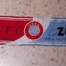 Coleccionismo deportivo: BUFANDA DE UEFA ENTRE SEVILLA VS ZENIT. Lote 221366593