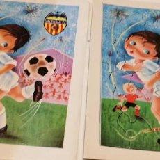 Coleccionismo deportivo: C-KISS80 PUZZLE ANTIGUO DEL VALENCIA CLUB DE FUTBOL EL DE FOTO. Lote 221724802