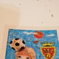 Coleccionismo deportivo: C-KISS80 PUZZLE ANTIGUO DEL REAL ZARAGOZA FUTBOL EL DE FOTO. Lote 221724908