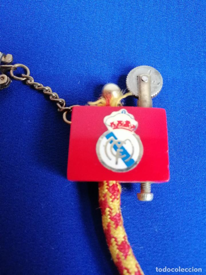 LLAVERO MECHERO REAL MADRID ANTIGUO (Coleccionismo Deportivo - Merchandising y Mascotas - Futbol)