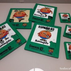 Coleccionismo deportivo: JUGUETE ANTIGUO ORIGINAL PUZZLE NARANJITO MUNDIAL FUTBOL ESPAÑA 82 1982. Lote 221977247
