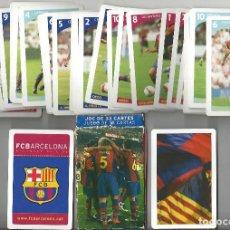 Coleccionismo deportivo: BARAJA DE CARTAS FC BARCELONA - PRODUCTO OFICIAL. Lote 222292405