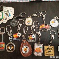 Coleccionismo deportivo: LLAVEROS ESPAÑA 82. Lote 223238313