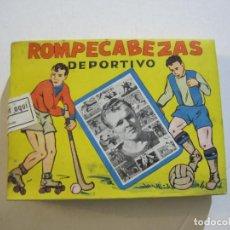 Coleccionismo deportivo: KUBALA-ROMPECABEZAS DEPORTIVO-PUZZLE FORMANDO LA CARA Y JUGADAS DEL JUGADOR DEL FC BARCELONA-FUTBOL. Lote 224101876