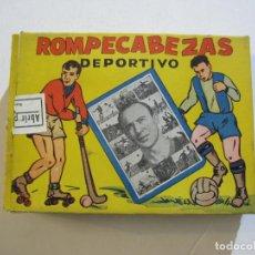Coleccionismo deportivo: CESAR-ROMPECABEZAS DEPORTIVO-PUZZLE FORMANDO LA CARA Y JUGADAS DEL JUGADOR DEL FC BARCELONA-FUTBOL. Lote 224102138