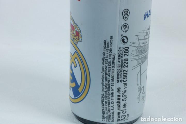 Coleccionismo deportivo: Lote de cerveza y cenicero del Real Madrid CF - Foto 11 - 224133460