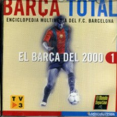 Coleccionismo deportivo: FC BARCELOBA - BARÇA TOTAL (10CD-ROM). Lote 224169310