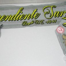 Collectionnisme sportif: BUFANDA FÚTBOL FOOTBALL SCARF INDEPENDIENTE SANTA FE, BOGOTÁ D.C. 1941, COLOMBIA. Lote 224532237