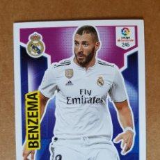 Colecionismo desportivo: ADRENALYN XL 2018 2019. 18 19. PANINI. REAL MADRID. Nº 245. Lote 224597662