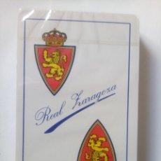 Coleccionismo deportivo: BARAJA REAL ZARAGOZA SIN ESTRENAR DE FOURNIER. Lote 225192381