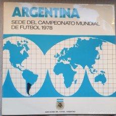 Coleccionismo deportivo: ARGENTINA, DISCO 33RPM CONMEMORATIVO MUNDIAL DE FUTBOL 1978. Lote 226941680