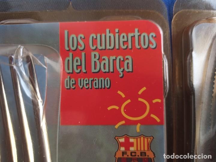 Coleccionismo deportivo: CUBERTERIA BARÇA,SPORT POR EL BARCA - Foto 2 - 227011930