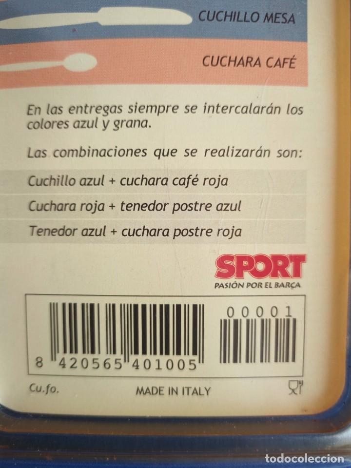 Coleccionismo deportivo: CUBERTERIA BARÇA,SPORT POR EL BARCA - Foto 8 - 227011930
