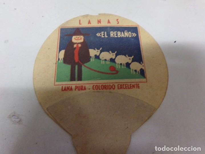 Coleccionismo deportivo: abanico carton pai pai kubala barcelona futbol publcidad lanas el rebaño - Foto 5 - 228187125