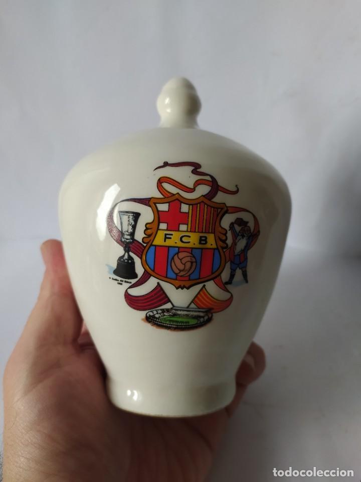 HUCHA F.C. BARCELONA, VINTAGE (Coleccionismo Deportivo - Merchandising y Mascotas - Futbol)